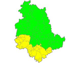 The municipalities of Umbria